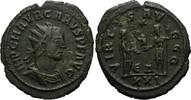 Römisches Reich, AE Antoninian o.J., ss+ Carus, 28