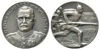 Erster Weltkrieg 1.WK, Silbermedaille Woyrsch, Remus von, *1847, +1920,