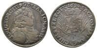 Sachsen, Gulden =2/3 Taler Johann Georg III., 1680-1691,