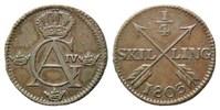 1/4 Skilling 1803 Schweden, Gustaf IV. Adolf, 1792-1809, ss  28,00 EUR kostenloser Versand