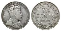 Neufundland, 50 Cents Edward VII., 1901-1910,
