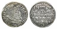 3 Gröscher 1599, Polen, Sigismund III., 1587-1632, ss+  46,00 EUR kostenloser Versand