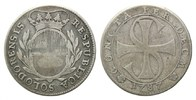 10 Batzen 1787, Schweiz, Solothurn, ss  65,00 EUR kostenloser Versand