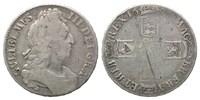 Crown 16XX Großbritannien, Wilhelm III., 1694-1702, f.ss/s  80,00 EUR kostenloser Versand