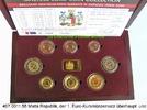 Malta Malta Republik 3,88 Euro Kursmünzensatz in Box . 497.0011.55