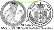 Niue 50 Dollars *29 KM44 Oly´88 Graf Grand-Slam