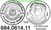 Thailand 20 Baht *538 100 Jahre Thai-Banknoten . 684.0614.11