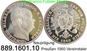 Deutschland Preußen Vereinstaler AKS78 Nachprägung . 889.1601.10
