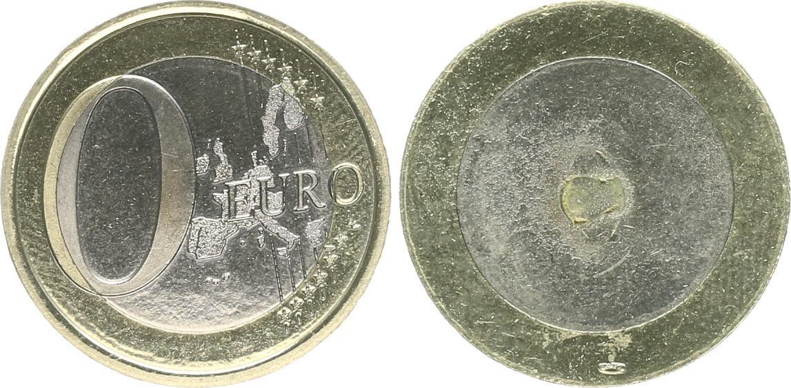 0 Fehlprägung Rückseite Mit Zeichen Münze Paris Ohne Jahr