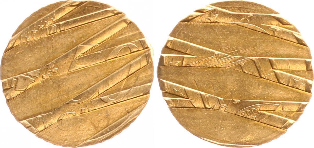 50 Cent Deutschland Drehende Sterne Entwertet 2002 D Deutschland