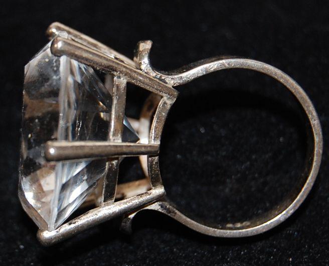 Armreif und Ring mit Kristall Deutschland Armreif 925er Silber und Ring mit  Kristall sehr guter Zustand, 9416aee035