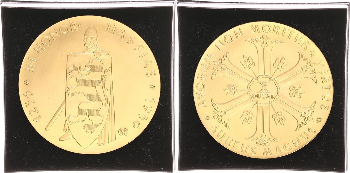 Goldmünze Im Wert Von 10 Dukaten Gold 980 1956 Deutschland Aureus