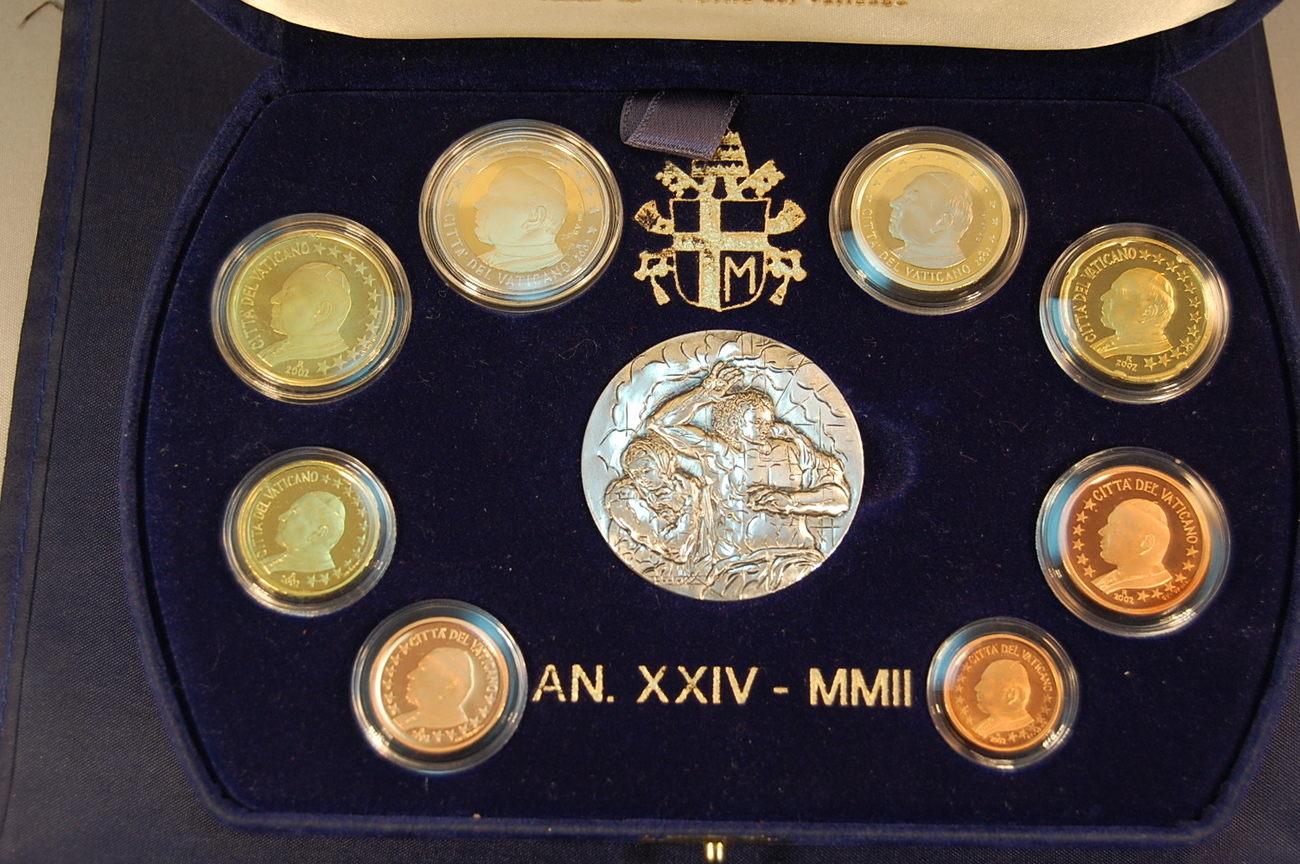 Offizieller Kurssatz 2002 2002 Vatikan Vatikan Offizieller Kurssatz