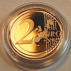 2 Euro 1999 Niederlande Niederlande 2 Euro Kursmünze 1999 Seltene