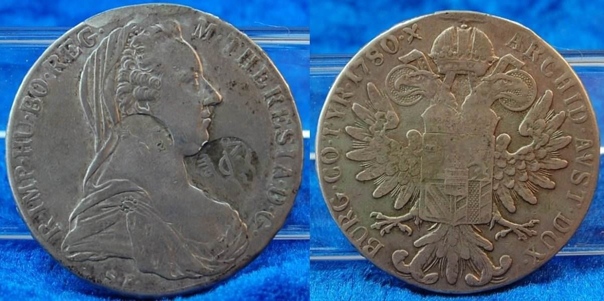 1 Taler Maria Theresia 1780 Deutschland österreich österreich 1