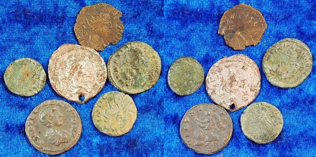 Lot Aus 6 Antiken Fälschungen Antike 6 Antike Fälschungen Römische