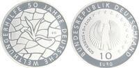 Deutschland / Eurowährung 10 Euro 50 Jahre Welthungerhile 2012 Mün 10 Euro 50. J. Welthungerhilfe 2012 Münzzeichen G Polierte Platte, in Münzkapsel