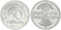 Deutschland / Weimar 50 Pfennig Weimar 50Pf.1922 G J.301  FEHLPRÄGUNG 2 von 1922 im Stempel geändert prfr.