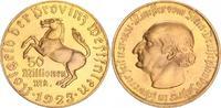 Nebengebiete / Westfalen 50 Millionen Mark Westfalen 50 Millionen Mark  schmaler Randstab !!!  fast Stempelglanz, vergoldet