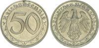 Deutschland / Drittes Reich 50 Pfennig Drittes Reich 50 Pfennig Cu-Ni 1939G vz-st