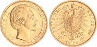 20 Mark Gold 1872 D Bayern 20 Mark Gold Bayern J.197  1872D Ludwig II. ... 360,00 EUR  +  8,95 EUR shipping