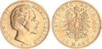 10 Mark Gold 1874 D Bayern 20 Mark Gold Bayern J.196  1874D Ludwig II. ... 245,00 EUR  +  7,50 EUR shipping