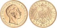 10 Mark Gold 1907 A Preußen Preußen 10 Mark Gold 1907 A Wilhelm II. f.v... 195,00 EUR  +  7,50 EUR shipping