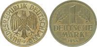 1 DM 1954 F Deutschland 1 DM Kursmünze 1954 F  vz-st, schöne Tönung vz-... 195,00 EUR  +  7,50 EUR shipping