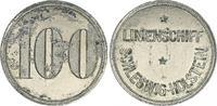Kaiserreich/3. Reich / Schleswig-Holstein Schiffsgeld 100 Pfennige Schleswig-Holstein Linienschiff Schiffsgeld 100 Pfennige