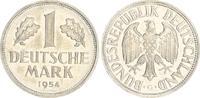 Deutschland 1 DM 1 DM Kursmünze 1954 G (1) vz-st, schöne Tönung