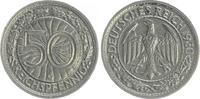 Deutschland / WEIMAR-3.Reich 50 Pfennig 3.Reich/WEIMAR 50 Pfennig ss-vz 1930 G
