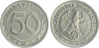 Deutschland / Drittes Reich 50 Pfennig Drittes Reich 50 Pfennig Cu-Ni 1939 G  fast Stempelglanz