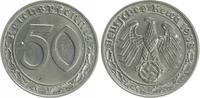 Deutschland / Drittes Reich 50 Pfennig Drittes Reich 50 Pfennig Cu-Ni 1938 B vz-st
