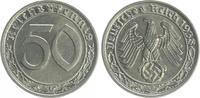 Deutschland / Drittes Reich 50 Pfennig Drittes Reich 50 Pfennig Cu-Ni 1938 G vz-st