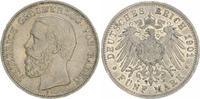 Deutschland / Kaiserreich / Baden 5 Mark Friedrich I. Baden 5 Mark 1901 G Friedrich I. ss-vz