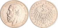 Deutschland / Kaiserreich / Baden 5 Mark Friedrich I. Baden 5 Mark 1891 G Friedrich I. A in Baden ohne Querstrich