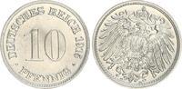 Deutschland / Kaiserreich 10 Pfennig Kaiserreich 10 Pf. J.13  1915 D   f.st