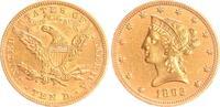 USA 10 Dollar Eagle 1892 ss-vz