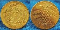 Deutschland / Weimar 10 Pfennig 10 Pfennig J.317 1924D Fehlprägung: auf viel zu dünnem Schrötling geprägt,2,17g