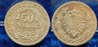 Deutschland / Kaiserreich / PROBEPRÄGUNG 50 Pfennig Zinnprobe Kaiserreich Zinnprobe zum 50Pf. J.8  1877 A,vz-st, 5,4g, Rand glatt, Dicke 3mm