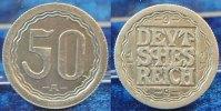 Deutschland / WEIMAR / PROBEPRÄGUNG 50 Pfennig WEIMAR 50 Pfennig Gestaltungsprobe zu J.301 Aluminium f.vz