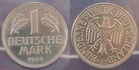 Deutschland 1 DM 1 DM Kursmünze 1956 J  Polierte Platte, in Plastikhülle verschweißt