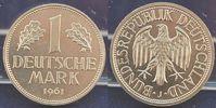 Deutschland 1 DM 1 DM Kursmünze 1961 J   prägefrisch-stempelglanz