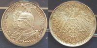 Deutschland / Kaiserreich / Preußen 2 Mark Fehlpr. dez., Randschr. fehlt Preußen 2 Mark 1901 A Fehlpr. dez., Randschr. fehlt, f.st