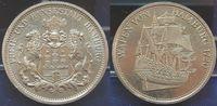 Deutschland / Bundesrepublik Schiffe Medaille Wappen von H/ Rs: Stempel 3 Mar Medaille Wappen von Hamburg 1720(Schiff), Rs: Stempel 3 Mark H. ohne Mzz, st