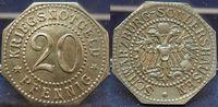 Nebengebiete / offizielles Notgeld 20 Pfennige off. Notgeld Schwarzburg-Son Notgeld 20 Pfennige off. Notgeld Schwarzburg-Sondershausen (2), prfr.