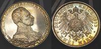 Deutschland / Kaiserreich / Preußen 2 Mark Preußen 2 Mark 1913 A Wilhelm II. 25 jähriges Regierungsjubiläum Polierte Platte