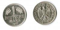 Deutschand / Bundesrepublik 1 DM 1 DM J.385 1957F  TOP-Erhaltung !!!   prägefrisch-stempelglanz