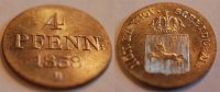 Hannover 4 Pfennig Hannover 4 Pfennig 1838 B fast Stempelglanz
