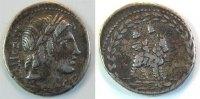 Antike / Römische Republik Denar Römische Republik  Denar P. Fonteius P.f. Capito